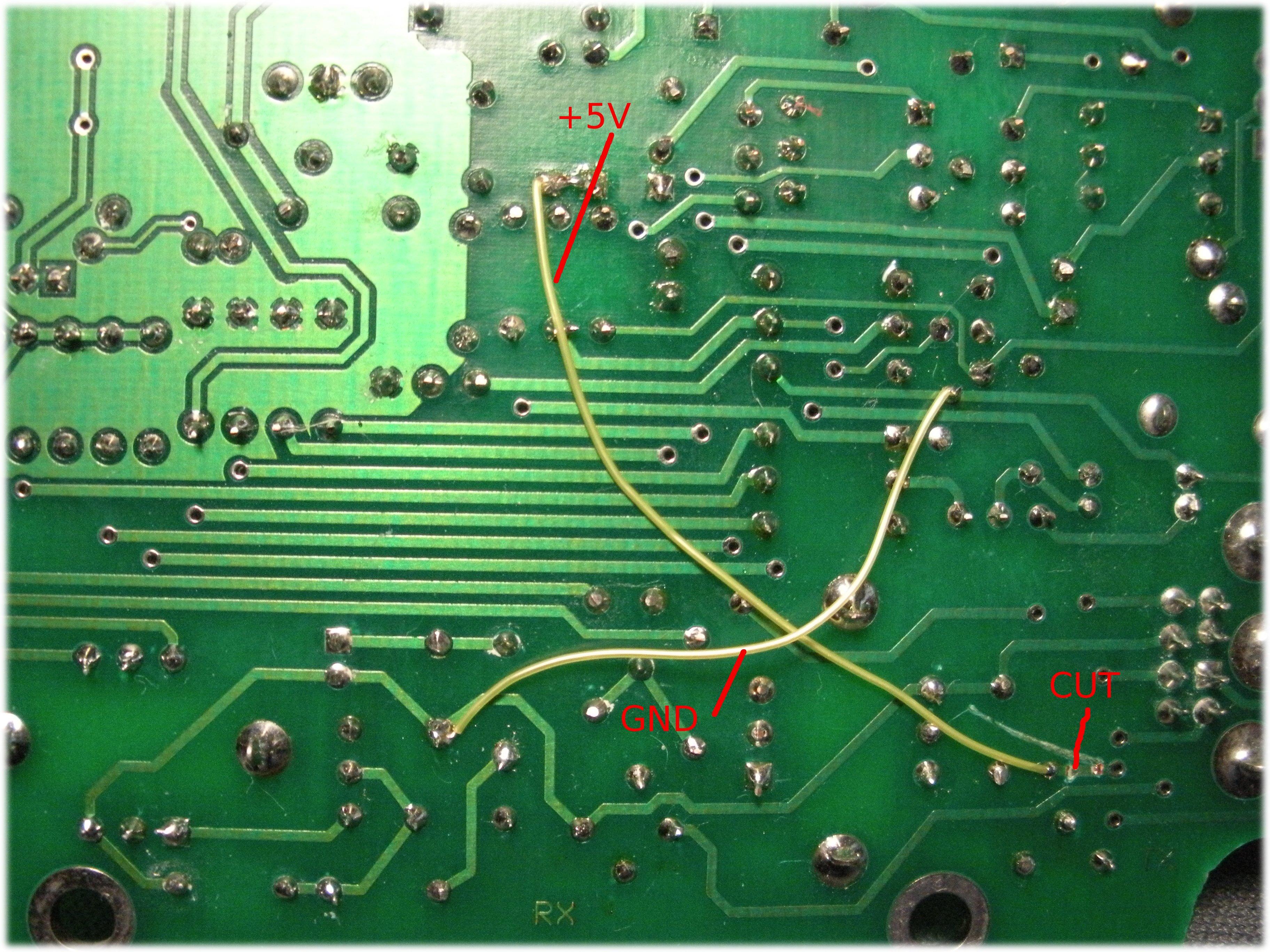 modified pc board